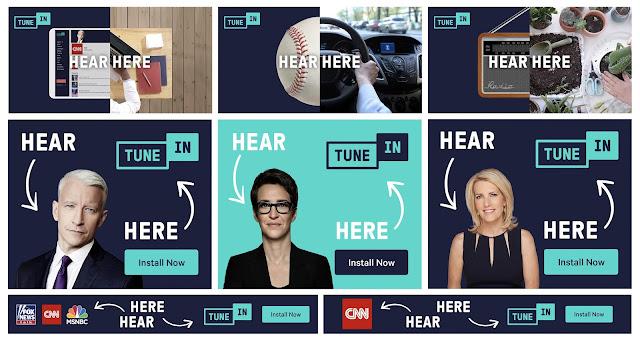 "TuneIn Launches New Brand Campaign ""Hear, Here"""