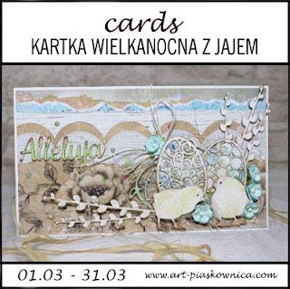 CARDS - kartka wielkanocna z jajem