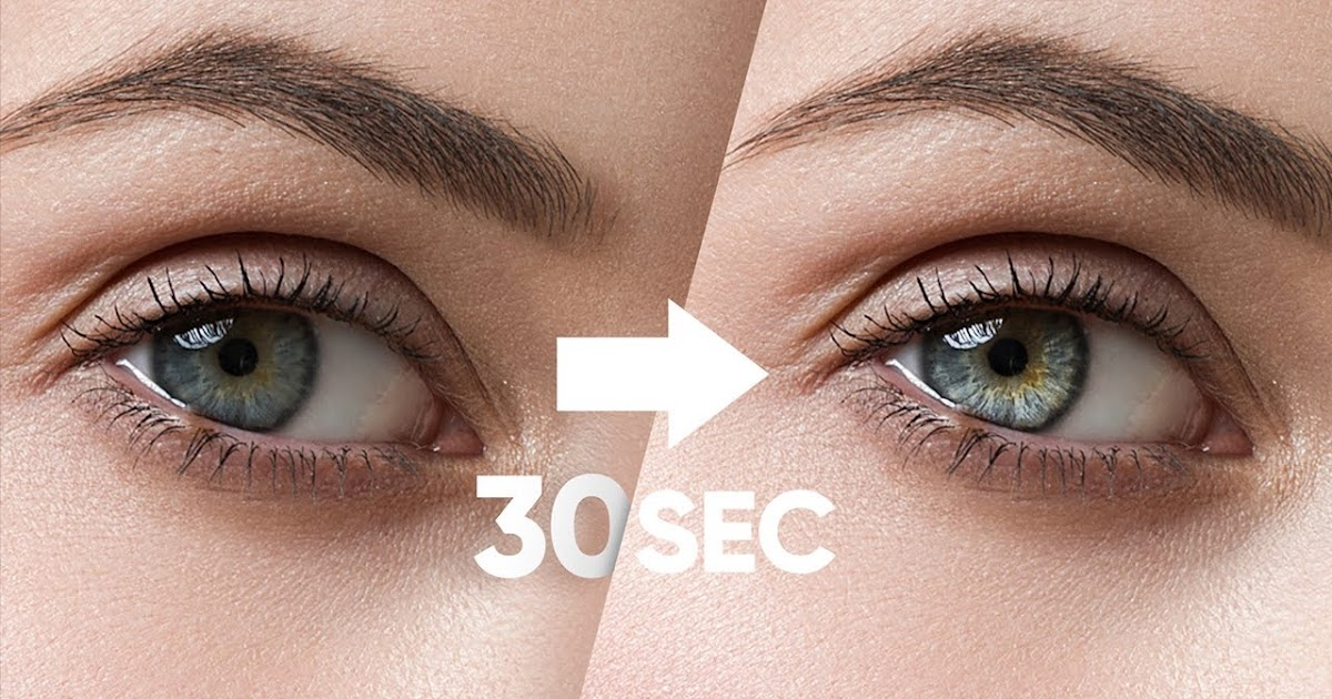 Make Eyes Dramatic in 30 Seconds with Photoshop!
