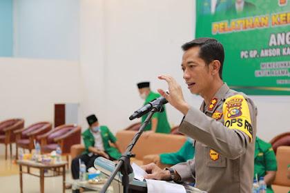 Harlah ke-87, Kapolres Inhil Harapkan GP Ansor Lahirkan Generasi Muda yang Siap Menjaga Ajaran Ahlussunnah Wal Jama'ah