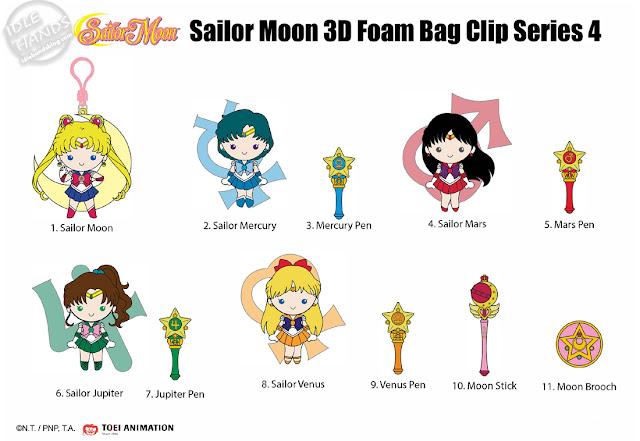 Toy Fair 2020 Monogram Sailor Moon Foam Figures