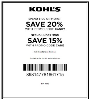 Kohls discount coupons may 2019