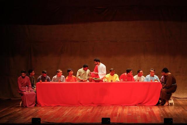Espetáculo Paixão de Cristo no Teatro RioMar