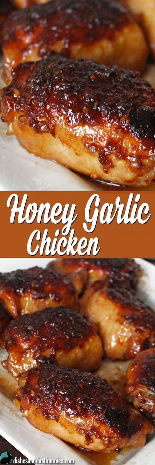 Honey Garlic Chicken (plus some really tasty sauce!) - Chicken Recipes