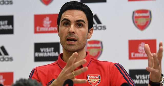 OYA HIT ME!, My chest is here' - Mikel Arteta ready to put his body on the line for Arsenal
