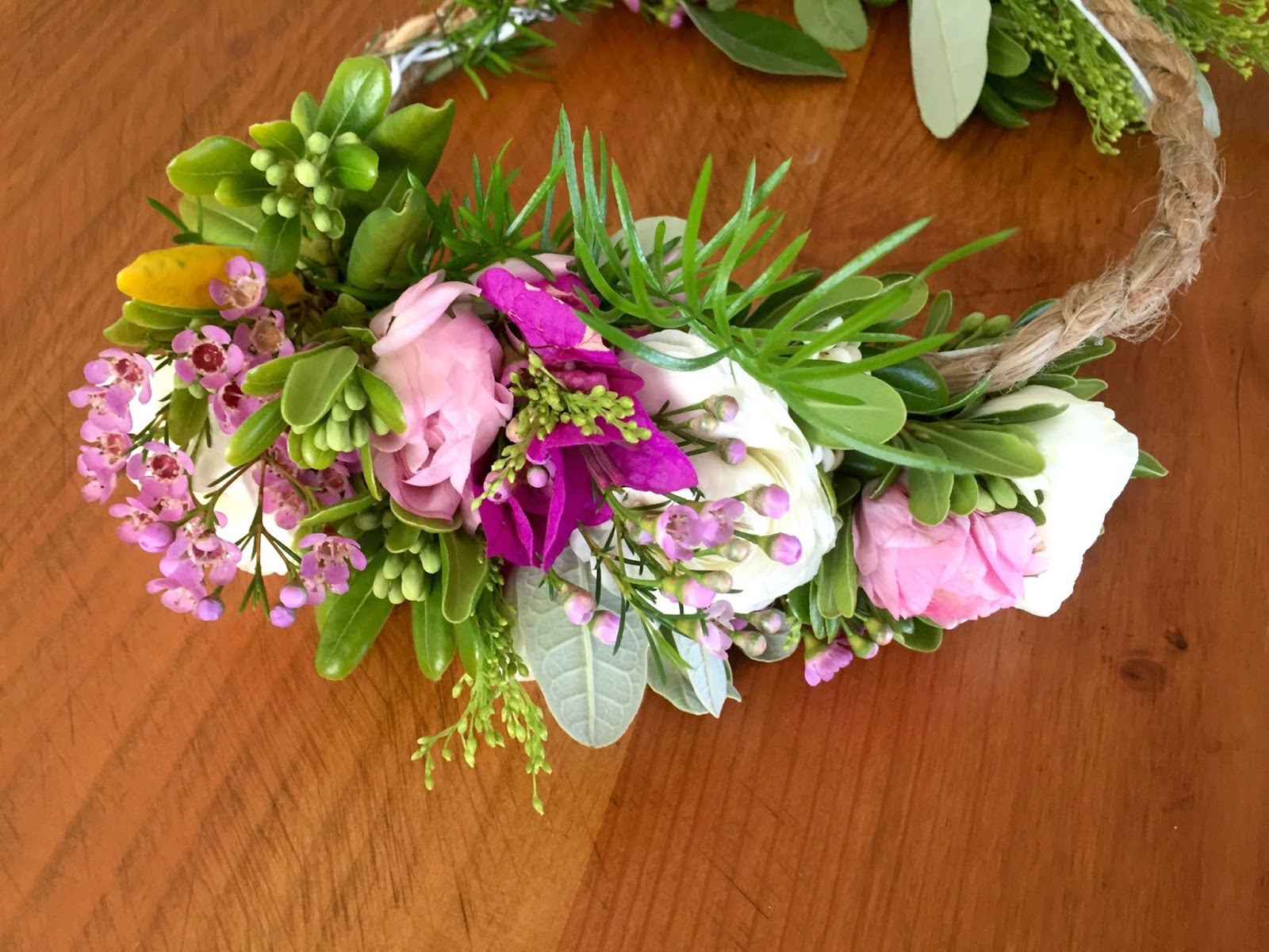 D D s Cottage and Design Fresh Flower Crowns