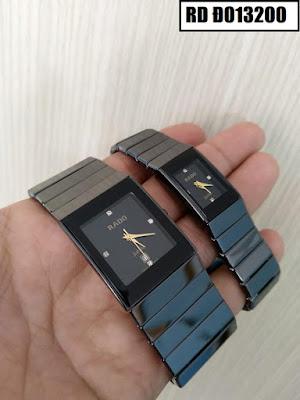 Đồng hồ đeo tay cặp đôi dây đá Rado RD Đ013200