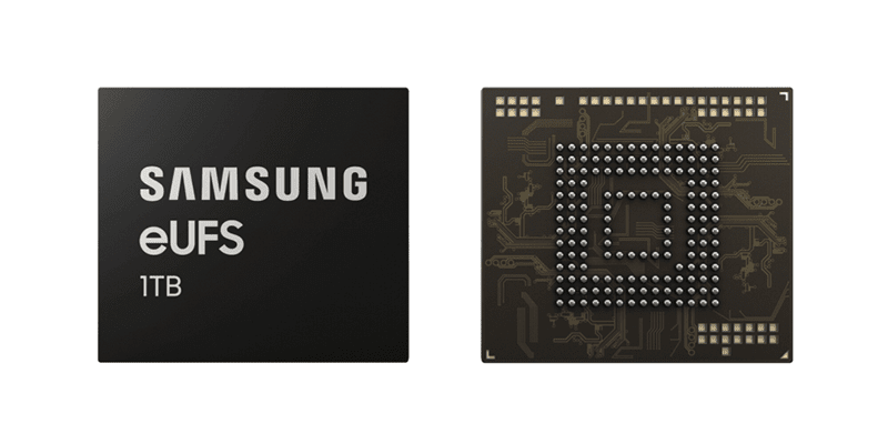 Samsung announces 1TB eUFS 2.1 chip for phones and mobile devices