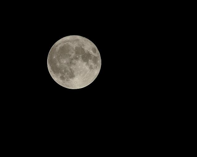 Луна - попытка астрофотографии