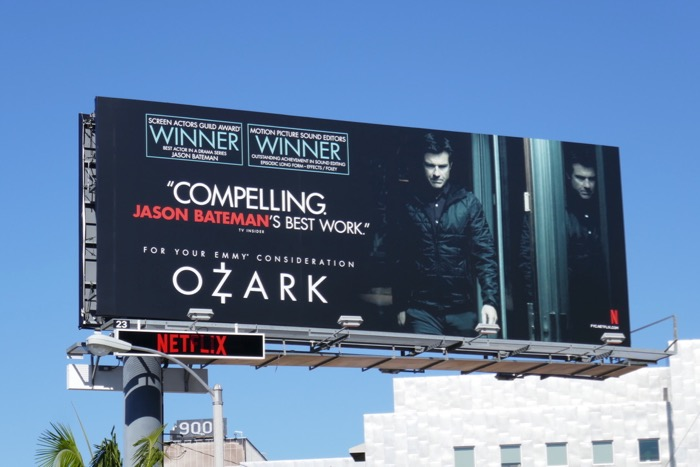 Ozark season 2 Emmy FYC billboard