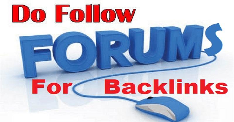 Paket backlink dofollow dari web forum berkualitas terbaru