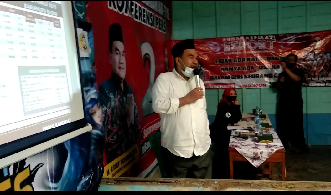 INDES-POLITIK-MEDIA CENTER 1 ARTYS - POLITIK UANG HANYA 21 PERSEN