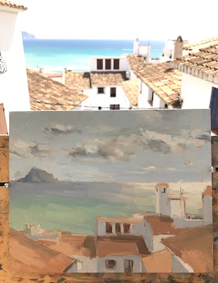 #215 'Altea, Spain' 8×10″