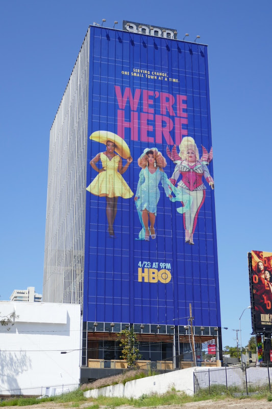 Giant Were Here season 1 billboard