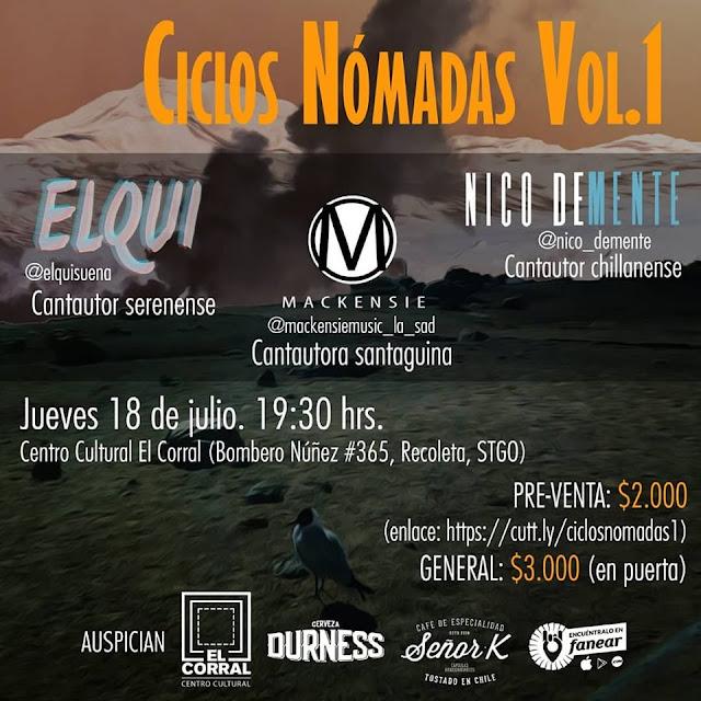 18/JULIO EN VIVO @ SANTIAGO