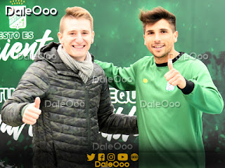 Diego Pariani y Lucas Mugni se volvieron a reencontrar en San Antonio - DaleOoo - Oriente Petrolero