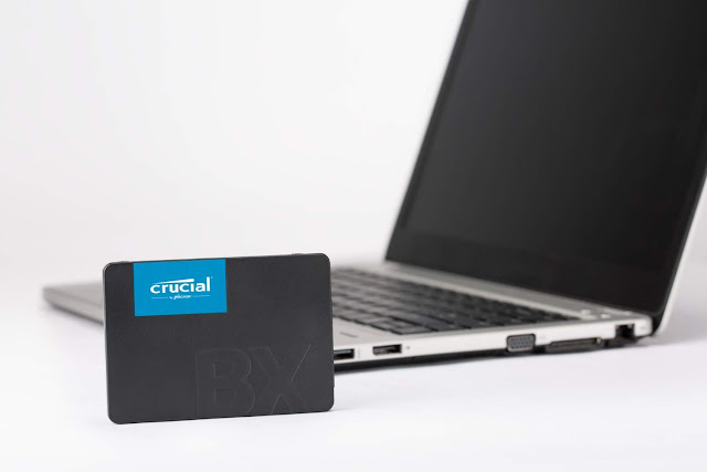 Crucial 120GB 3D NAND SATA SSD