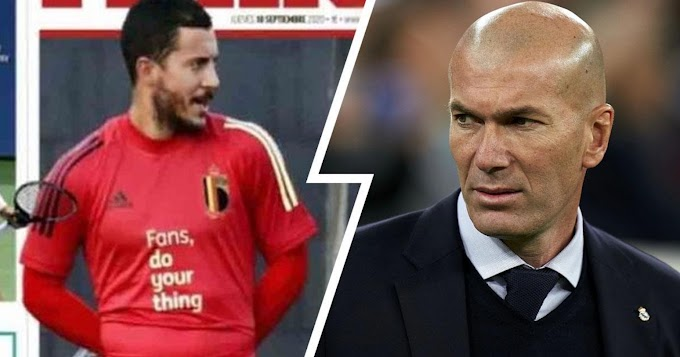 Overweight Hazard becoming matter of concerned for Real Madrid ahead of new season.