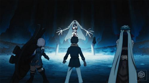 Fujimaru, Mash & Ishtar vs Ereshkigal