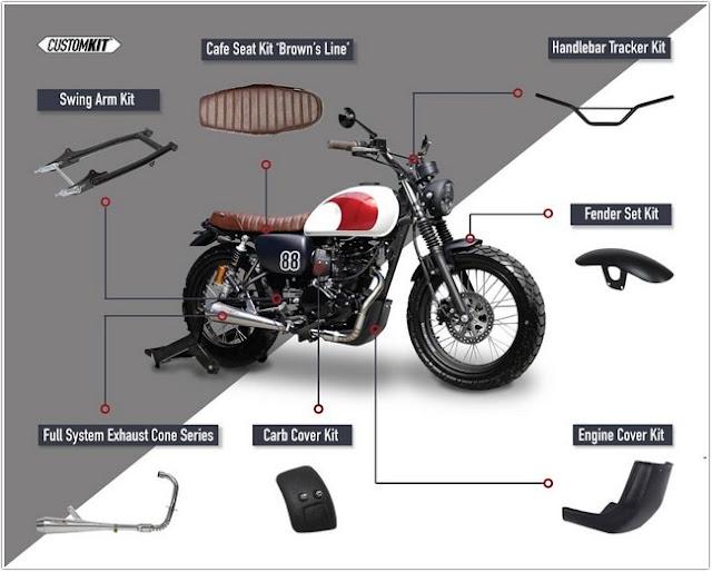 Custom Kit Pilihan dari Katros Garage