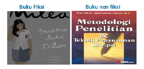 Gambar buku fiksi dan non fiksi