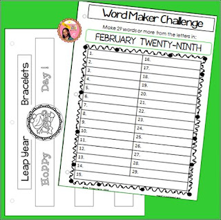 Printable Leap Day Worksheets