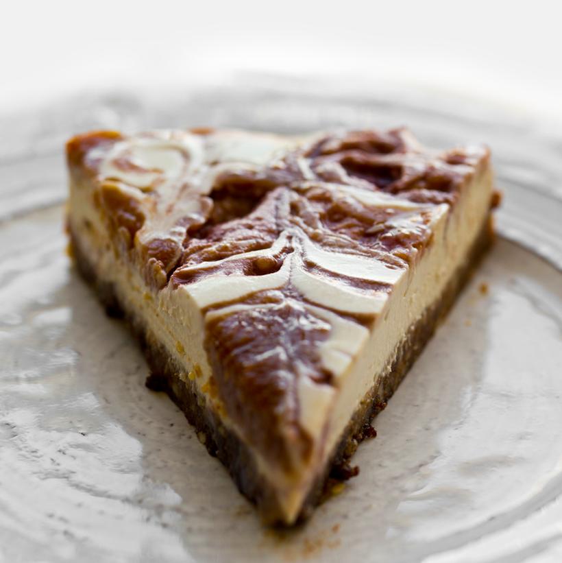 PB&J Vegan Cheesecake