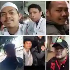 "Ahmad Taufan Damanik harus mencabut ucapannya tentang ""anak-anak Front ketawa-ketawa ketika menghadapi aparat"". Anda itu digaji oleh rakyat bukan untuk menjadi jurubicara polisi.[]"