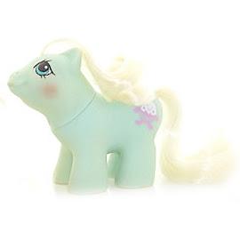 My Little Pony Tangles Year Five Newborn Twin Ponies G1 Pony