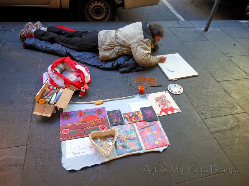 Art on the streets, Melbourne
