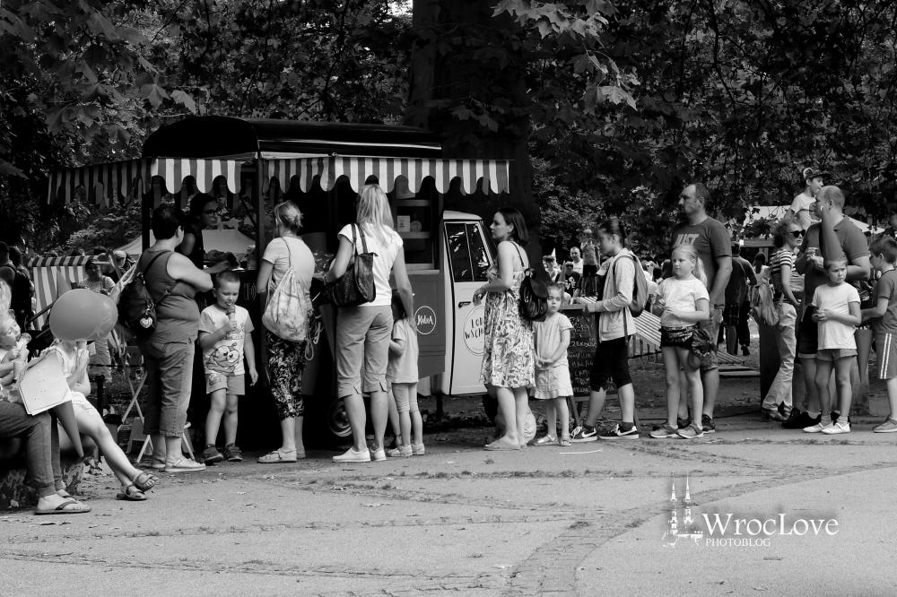 lody wschody podczas Wrocławskiegi Festiwalu Krasnoludków