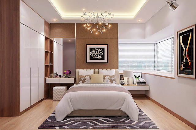 Những mẫu thiết kế nội thất phòng ngủ chung cư siêu đẹp P1