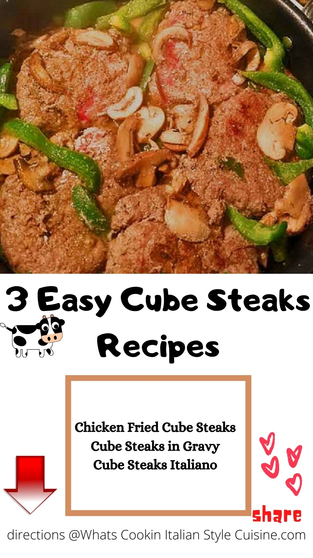 pin for later cube steaks