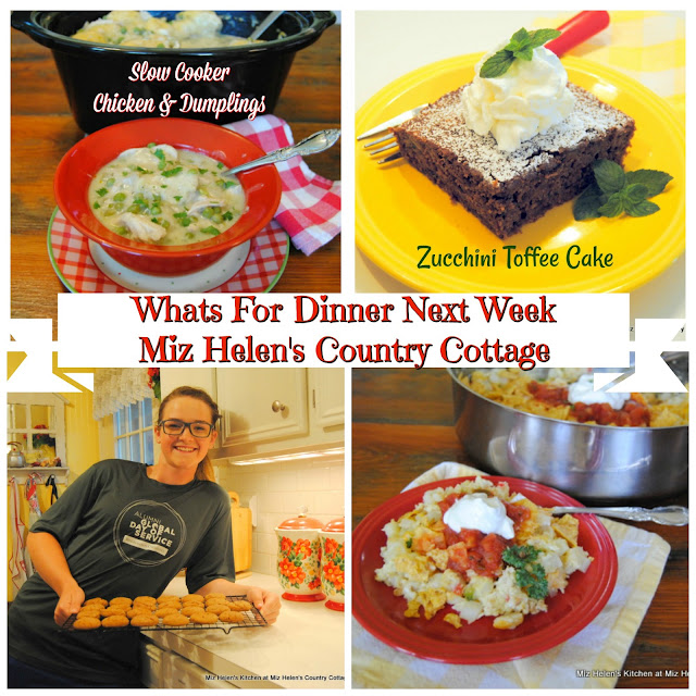 Whats For Dinner Next Week, 9-29-19 at Miz Helen's Country Cottage