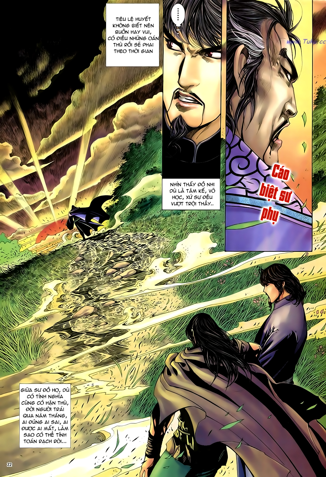 Anh hùng vô lệ Chap 29 trang 23