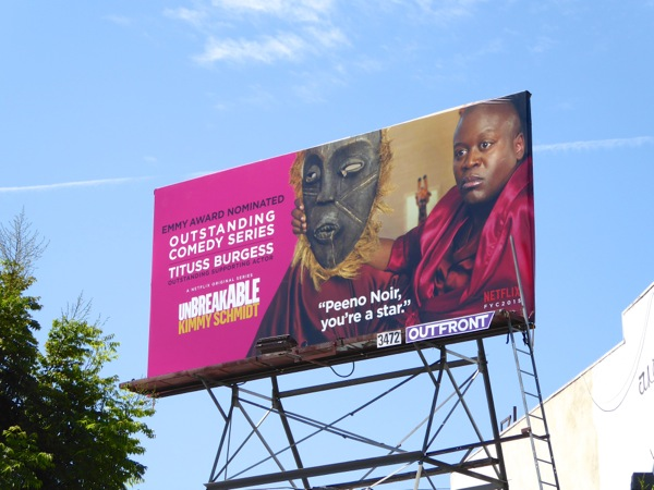 Unbreakable Kimmy Schmidt Tituss Burgess 2015 Emmy billboard