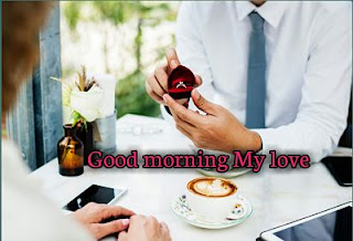 good morning image with ring