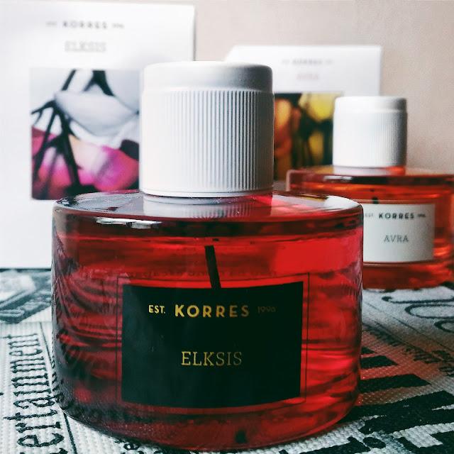 #BeautyMonday: Perfumes Korres Avra & Elksis