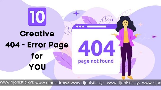 আমার দেখা সেরা ১০ টি 404-Error Page টেমপ্লেট