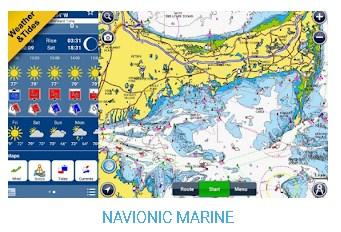 Navionic Marine - Aflikasi Peta Laut Offline Untuk Android