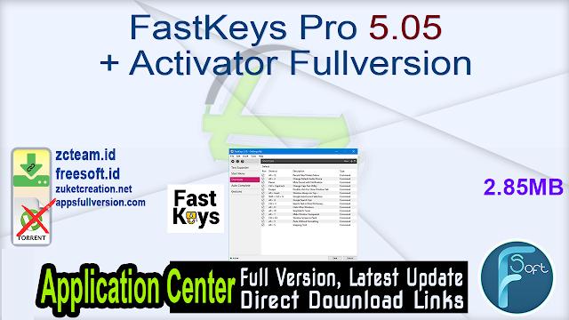 FastKeys Pro 5.05 + Activator Fullversion