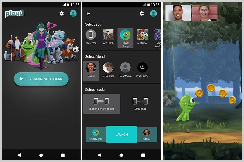 mejor aplicacion android entretenimiento PlayJ screenshots