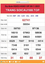 HÀ NỘI VIP LOTO 09 - DÀN ĐỀ 6X HÔM NAY - CẦU LOTO CHUẨN - SOICAU188.TOP