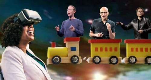 Tech giants accept the metaverse