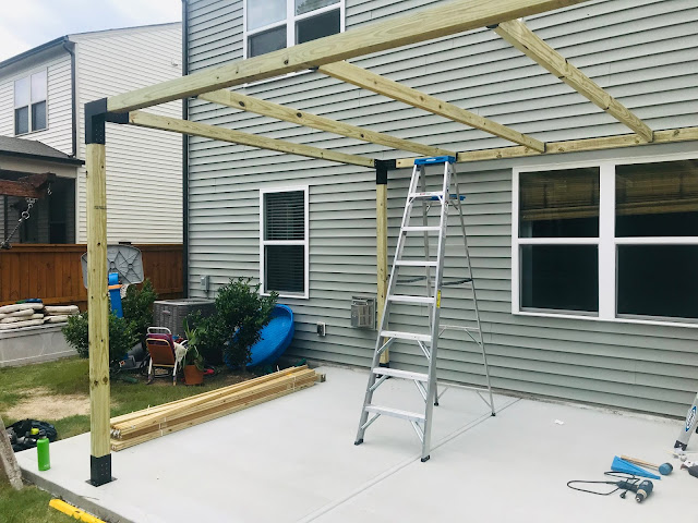 How to Build a Modern Pergola with TOJA GRID