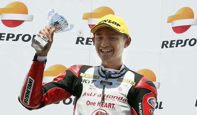 Dimas Ekky Debut di Grand Prix Moto2