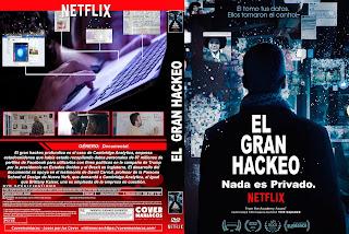 EL GRAN HACKEO – THE GREAT HACK 2019 [COVER – DVD]