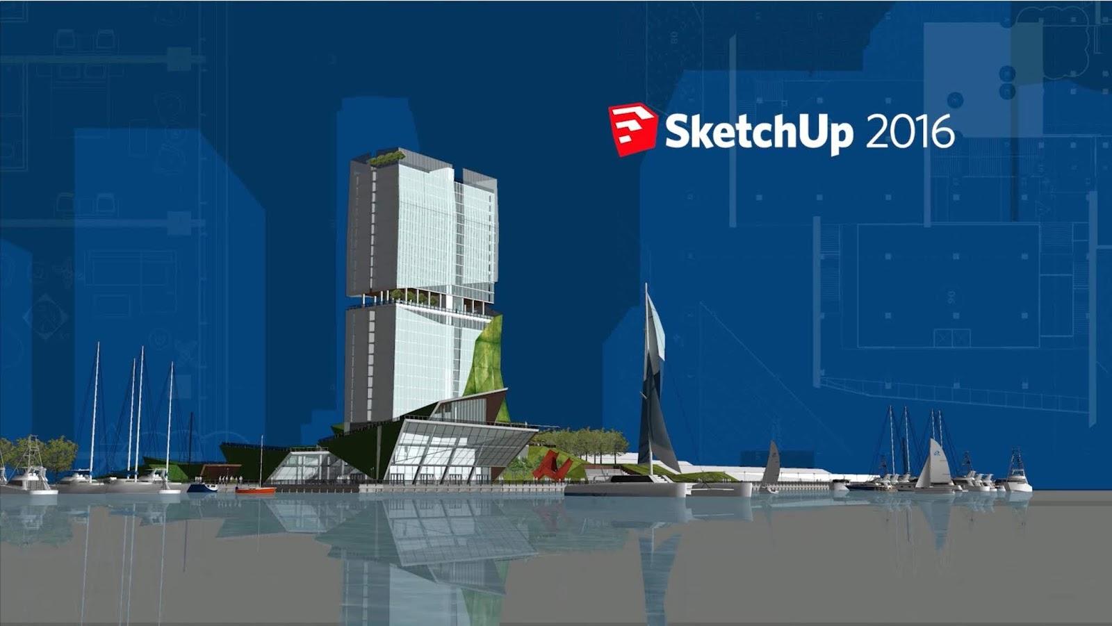 Download Google Sketchup Pro 2016 Full Bản Quyền 32-bit và 64-bit