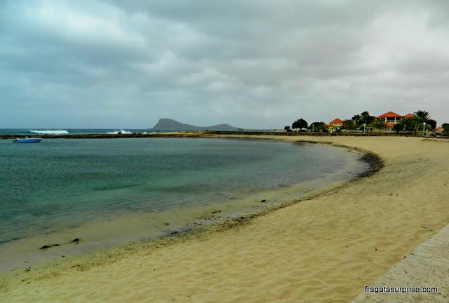 Murdeira, povoado na Ilha do Sal, Cabo Verde