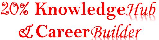 20% KnowledgeHub & CareerBuilder